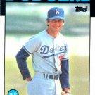 1986 Topps #522 Bob Bailor Los Angeles Dodgers
