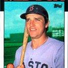 1986 Topps #529 Marc Sullivan Boston Red Sox