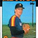 1986 Topps #534 Jeff Calhoun Houston Astros