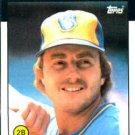 1986 Topps #582 Jim Gantner Milwaukee Brewers