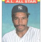 1986 Topps #717 Dave Winfield New York Yankees All Star