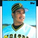 1986 Topps #746 Denny Gonzalez Pittsburgh Pirates