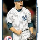 2014 Topps Update #US-127 David Phelps New York Yankees