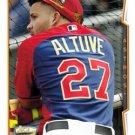 2014 Topps #US-190 Jose Altuve Houston Astros All Star