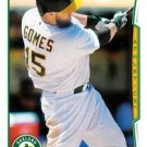 2014 Topps Update #US-327 Jonny Gomes Oakland A's