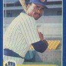 1986 Fleer Update #U-22 Juan Castillo Milwaukee Brewers