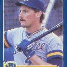 1986 Fleer Update #U-33 Rob Deer Milwaukee Brewers