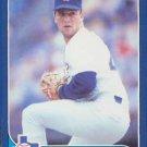 1986 Fleer Update #U-129 Bobby Witt Texas Rangers