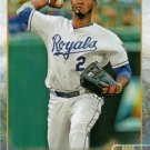 2015 Topps #137 Alcides Escobar Kansas City Royals