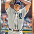 2015 Topps #312 Kyle Lobstein Detroit Tigers RC