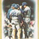 1987 Topps #56 Milwaukee Brewers Team Leaders