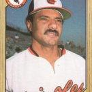 1987 Topps #276 Jackie Gutierrez Baltimore Orioles