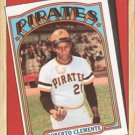 1987 Topps #313 Roberto Clemente Pittsburgh Pirates Turn Back the Clock