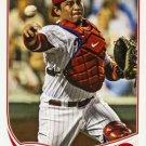 2013 Topps #367 Carlos Ruiz Philadelphia Phillies