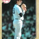 1987 Topps #665 Rod Scurry New York Yankees