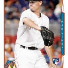 2014 Topps Update #US-245 Andrew Heaney Miami Marlins RC