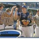2012 Topps #312 Nick Hundley San Diego Padres