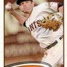 2012 Topps #561 Freddy Sanchez San Francisco Giants