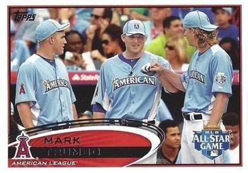 2012 Topps Update #US-10 Mark Trumbo Los Angeles Angels SP
