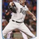 2013 Topps #419 Matt Moore Tampa Bay Rays