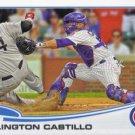 2013 Topps #551 Welington Castillo Chicago Cubs