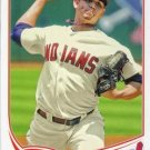 2013 Topps #599 Carlos Carrasco Cleveland Indians