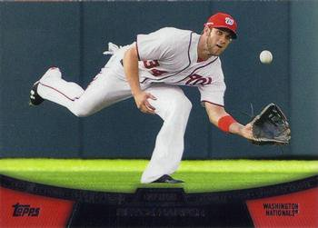 2013 Topps #CD-7 Bryce Harper Washington Nationals Chase It Down