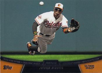 2013 Topps #CD-5 Adam Jones Baltimore Orioles Chase It Down