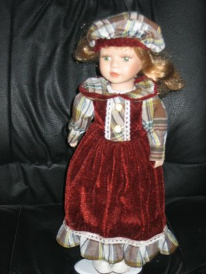 Emerald Doll Collection--Porcelain doll