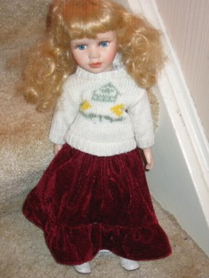 The Classical Collection--- Porcelain Doll