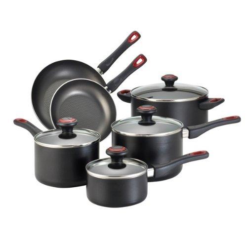 Farberware High Performance Aluminum Nonstick 10-Piece Cookware Set,