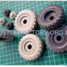 1/35 Customfactory Wheels for BTR-40