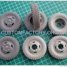1/35 Customfactory Wheels for ZIL 130, 133 and trailers