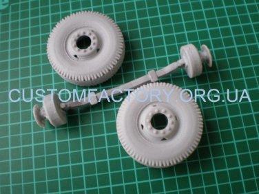 1/35 Customfactory Beam front axle models KrAZ -256, -258, -257, YAZ-210