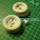 "1/35 Customfactory  Wheels for model gun BS-3 (late type ""tree"")"