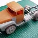 1/35 Customfactory ZIL-130: Correction set to model ZIL-131 by ICM (chassis)