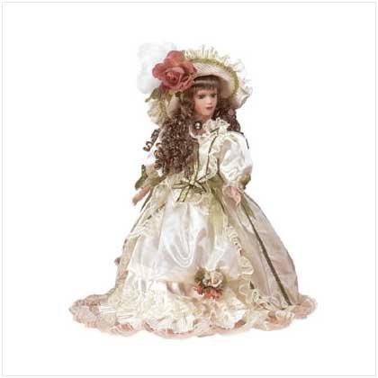 Gwyneth Porcelain Doll - 29633