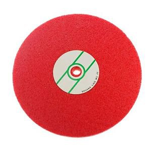 Fiber Polishing Buffing Wheel 240# Grit Nylon Abrasive 200mm Dia 7P Hardness