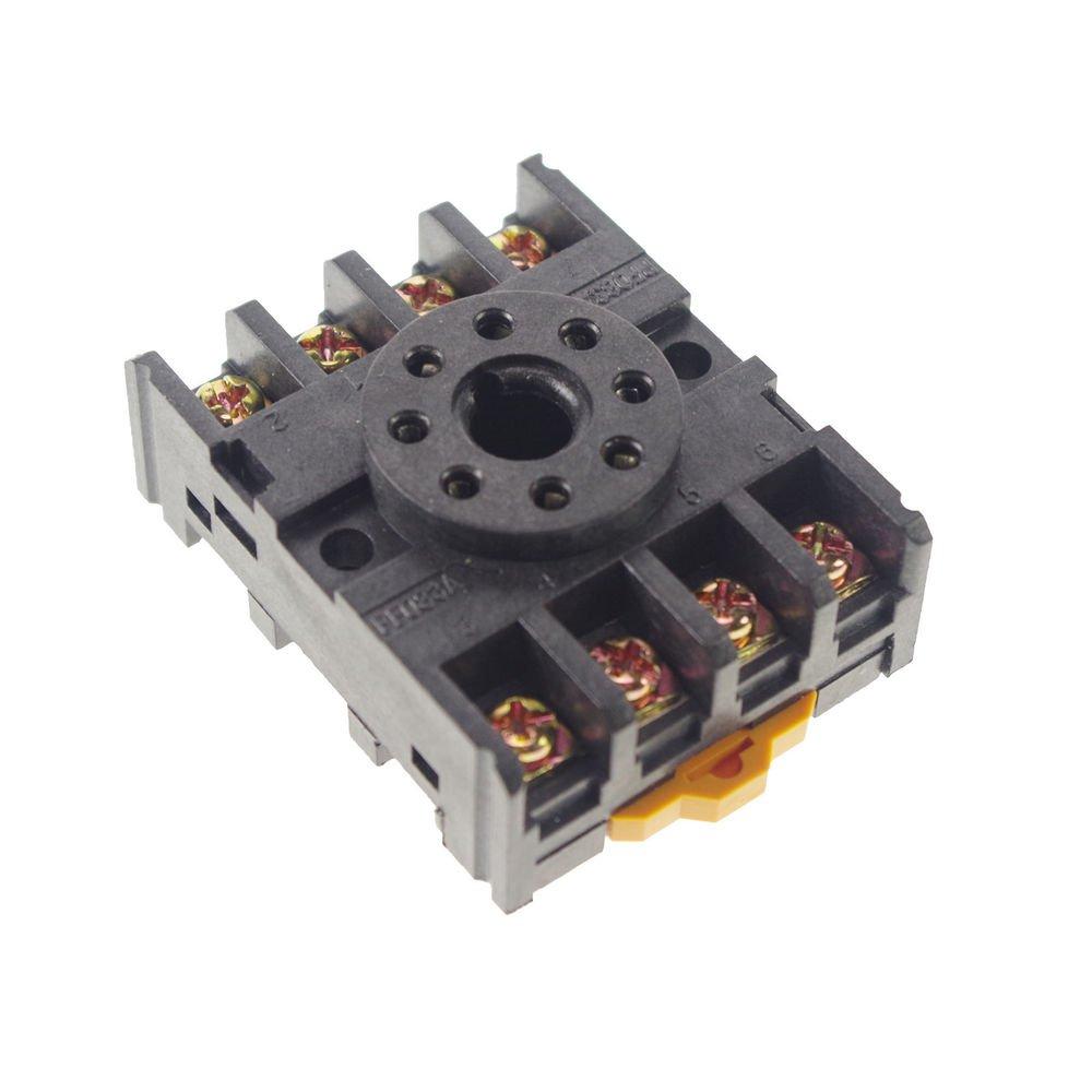 100PCS 8-Pin PF083A Relay Base Socket