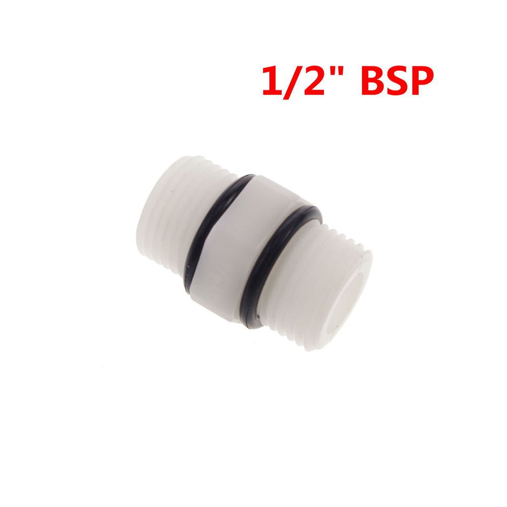 """Lot3 1/2"""" BSP Equal Male Straight  RO Water System Plastic Connect Fitting"""