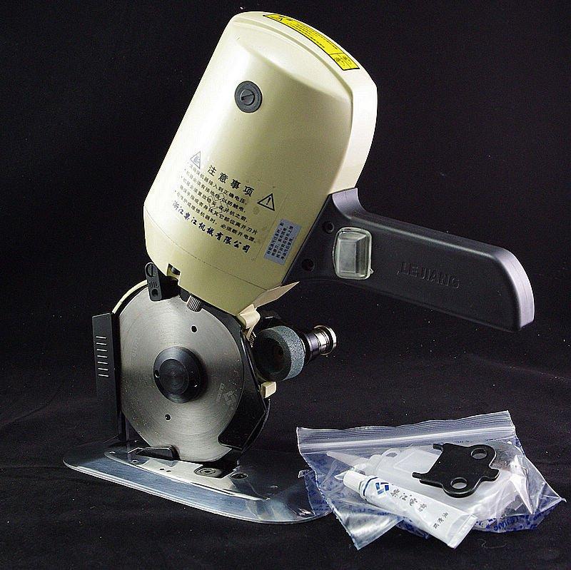 220V 110mm Cloth Cutter Fabric Cutting Machine Shear