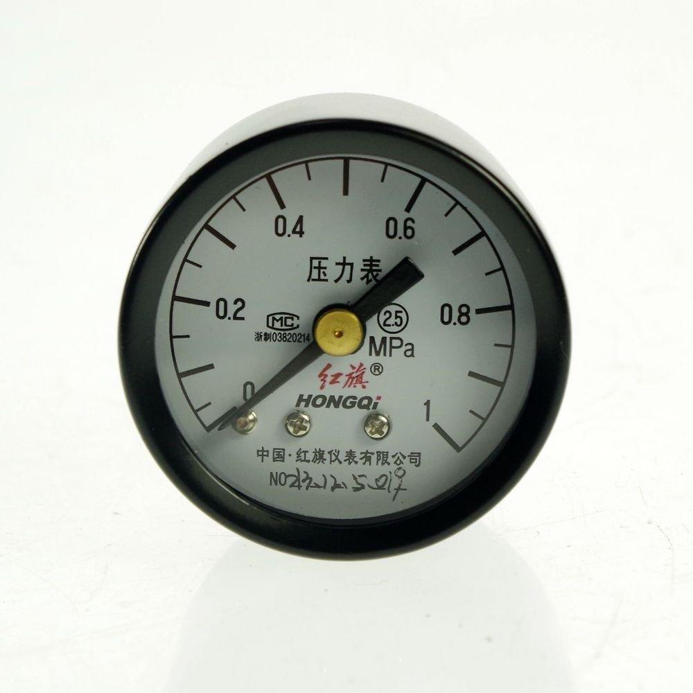 0-1Mpa Water Oil Hydraulic Air Pressure Gauge Universal Gauge M10*1 40mm Dia