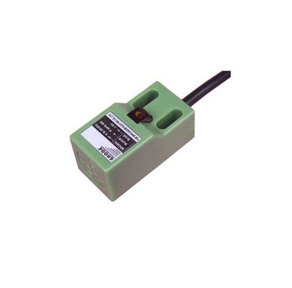 Inductive Proximity Switch Sensor SN04-N DC6-36V 3-Wire NPN NO 18*18*1mm(Rail)
