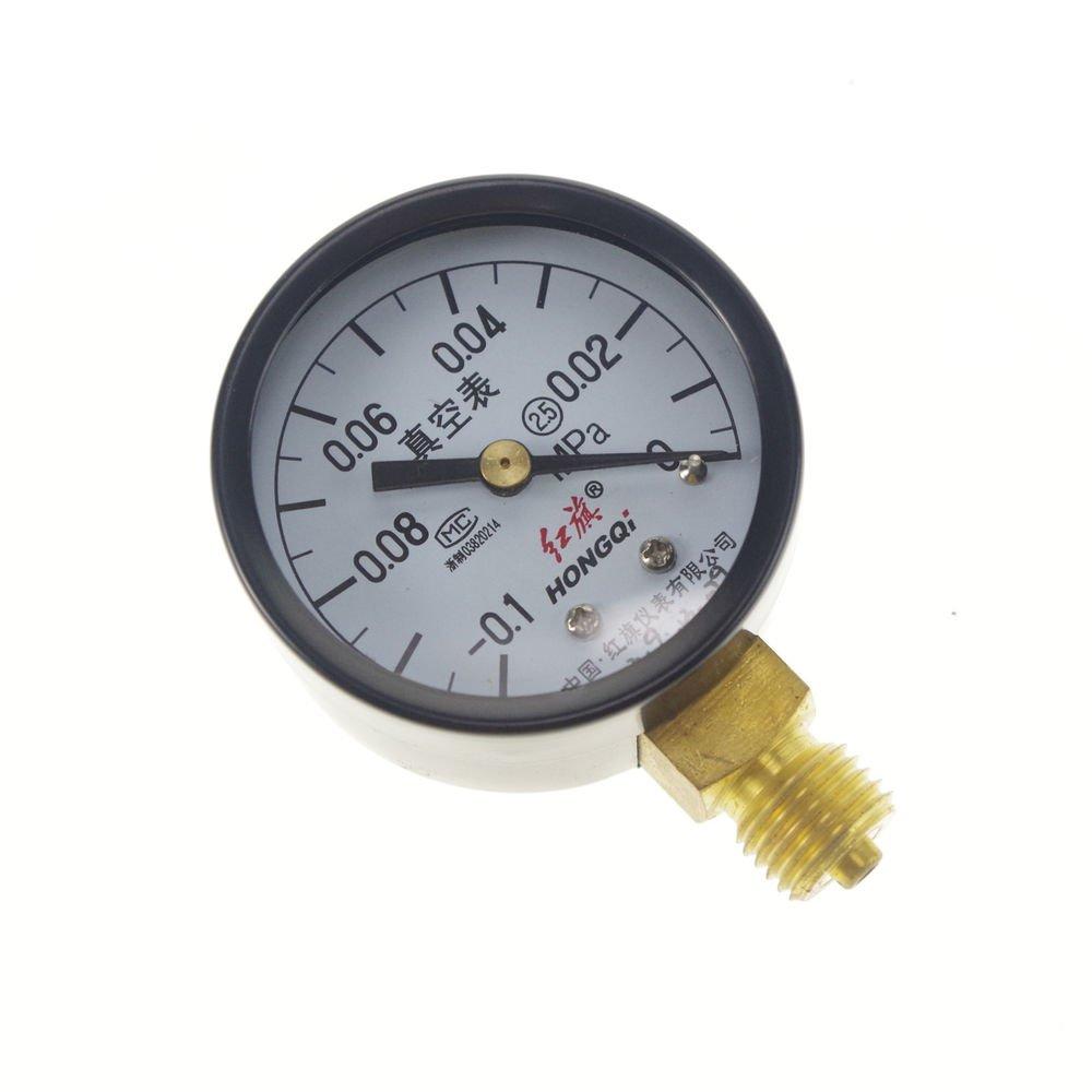 Vacuum Gauge Air Pressure Gauge Universal Gauge M14*1.5 50mm Dia -0.1-0Mpa