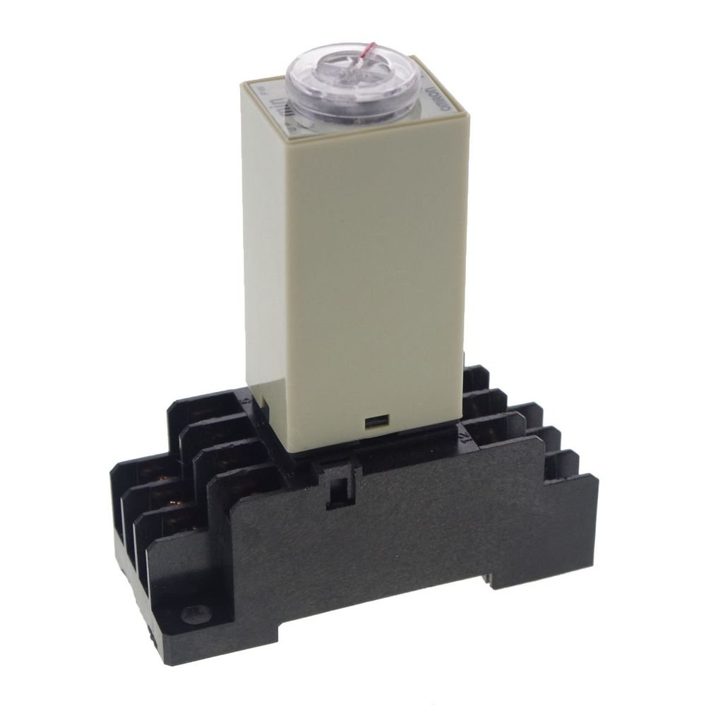 2~60M 110V 3A H3Y-4 Power On 3A Time Delay Relay Solid-State Timer,4PDT Socket