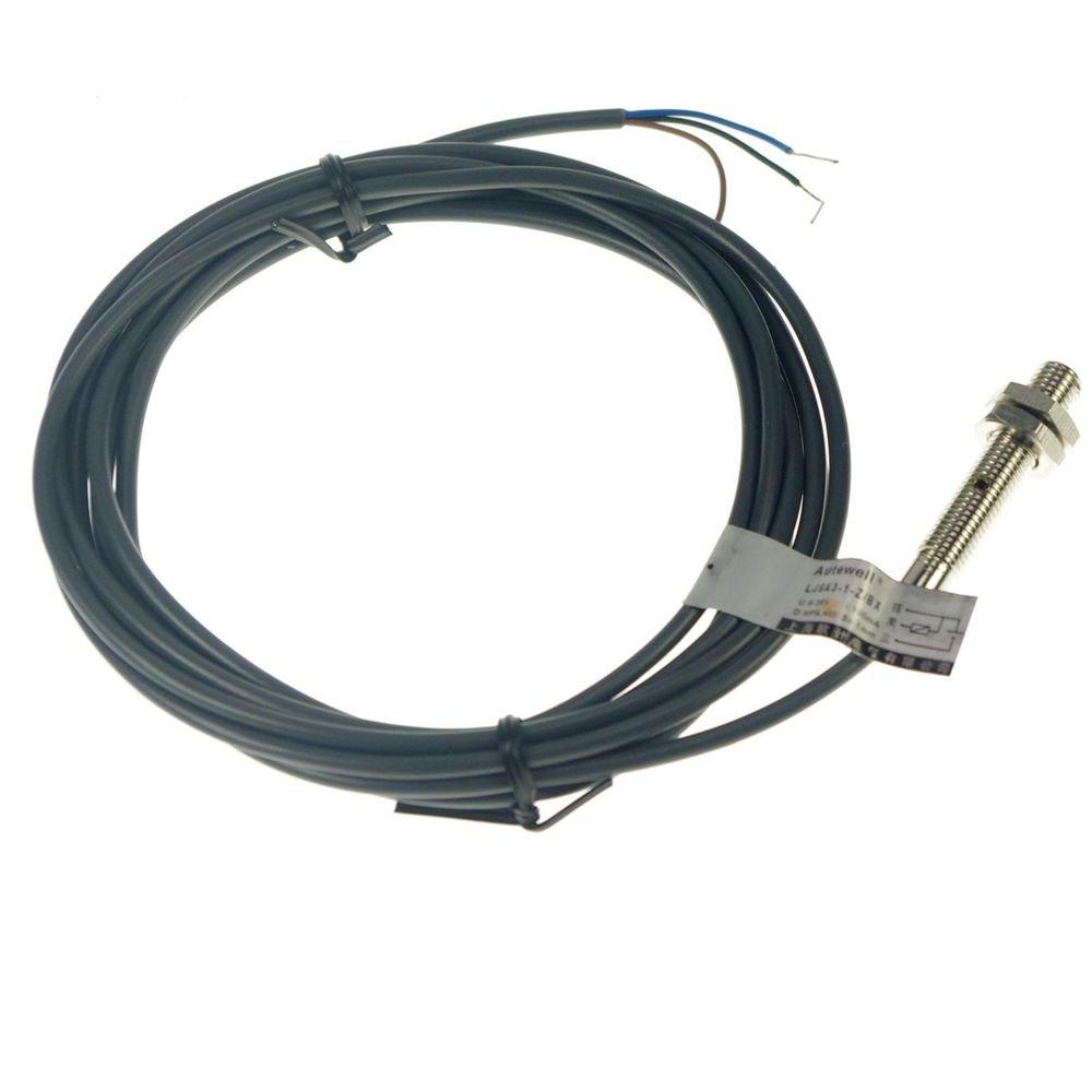 Proximity Switch Sensor LJ6A3-1-Z/BX Submerged DC 3-Wire NPN NO 8*8*1mm(Rail)