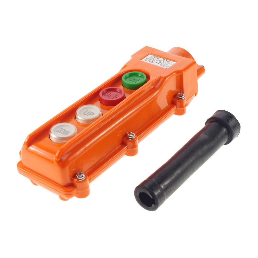 For Hoist & Crane Control Station Push Button Switch UP-Down COB-61A Rainproof