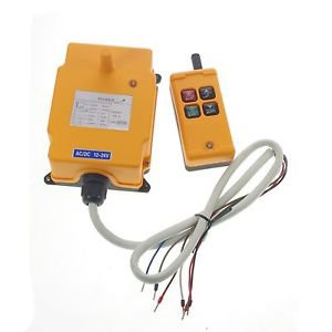 One Motion One Speed Hoist Crane Truck Radio Remote Controller System  240VAC