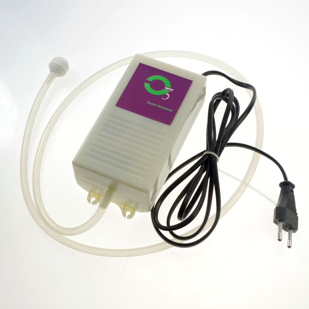 200mg/hr Fruits And Vegetables Detoxification Air Purifier Ozone Generator 110V