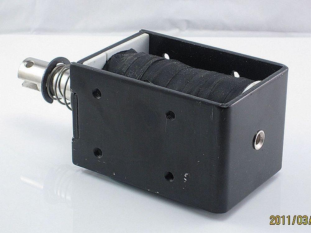 12V 10mm Stroke 6.5kg force Electromagnet Solenoid